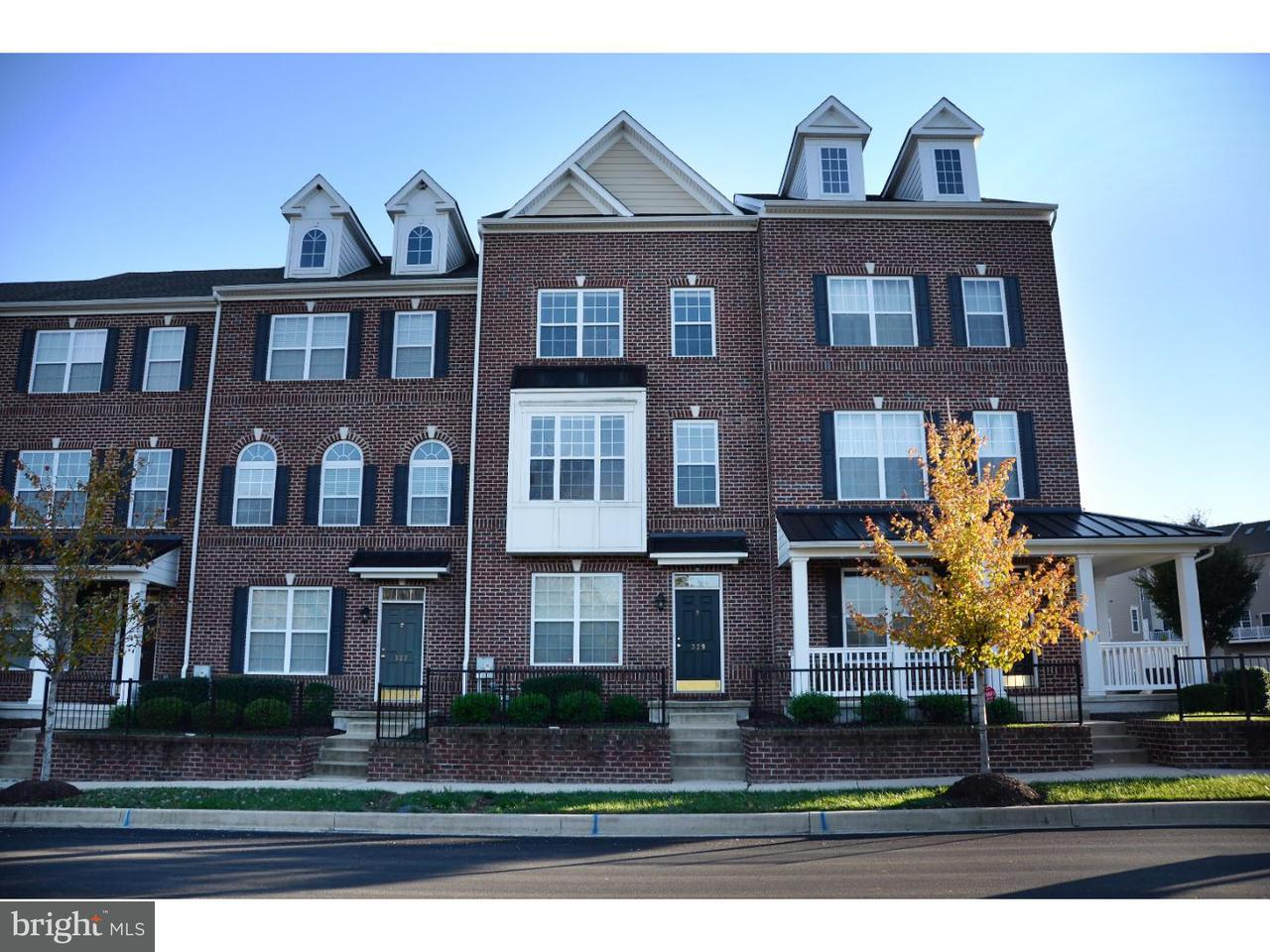 Townhouse for Sale at 329 LENAPE WAY Claymont, Delaware 19703 United States