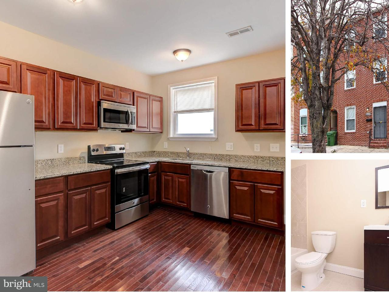Single Family for Sale at 817 Caroline St N Baltimore, Maryland 21205 United States