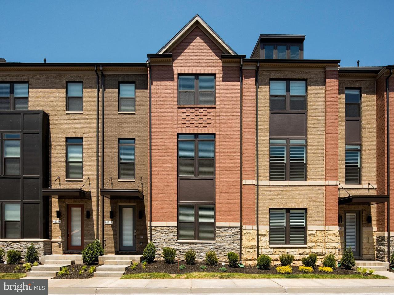 Townhouse for Sale at 44720 ELLSWORTH TER #N/A 44720 ELLSWORTH TER #N/A Ashburn, Virginia 20147 United States