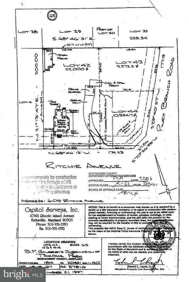 Land für Verkauf beim 601 RITCHIE Avenue 601 RITCHIE Avenue Silver Spring, Maryland 20910 Vereinigte Staaten