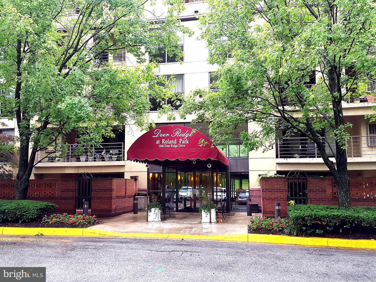 Condominium for Sale at 1040 Deer Ridge Dr #518 Baltimore, Maryland 21210 United States