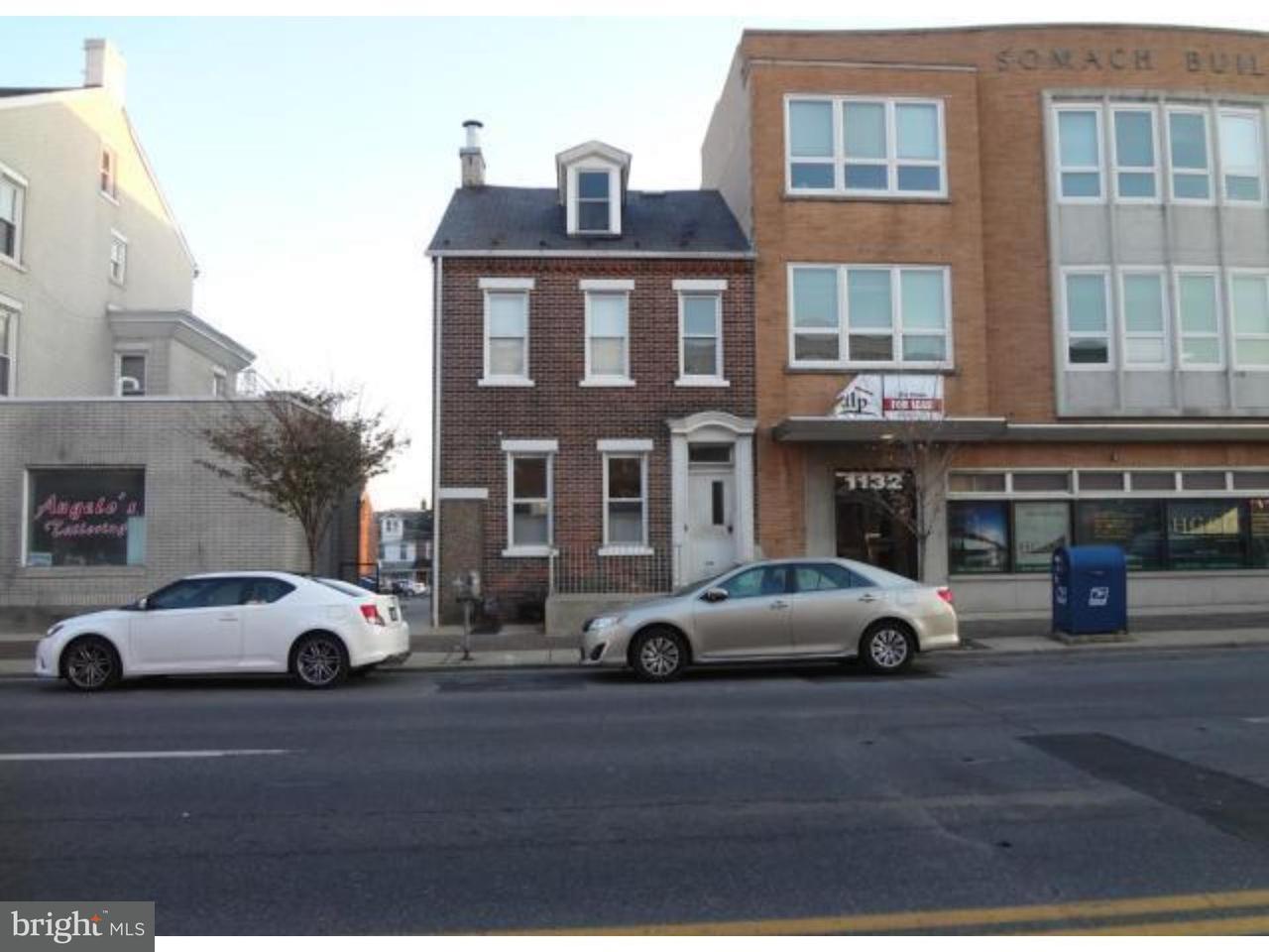 Частный односемейный дом для того Аренда на 1130 W HAMILTON ST ##1 Allentown, Пенсильвания 18101 Соединенные Штаты