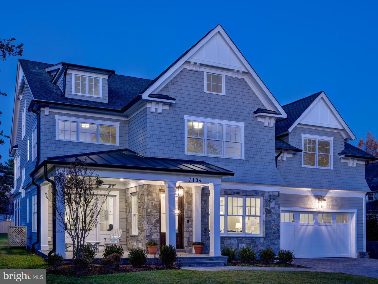Casa Unifamiliar por un Venta en 7104 DELAWARE Street 7104 DELAWARE Street Chevy Chase, Maryland 20815 Estados Unidos