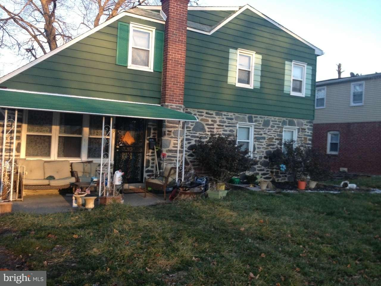 Частный односемейный дом для того Продажа на 827 E PENN PINES BLVD Aldan, Пенсильвания 19018 Соединенные Штаты