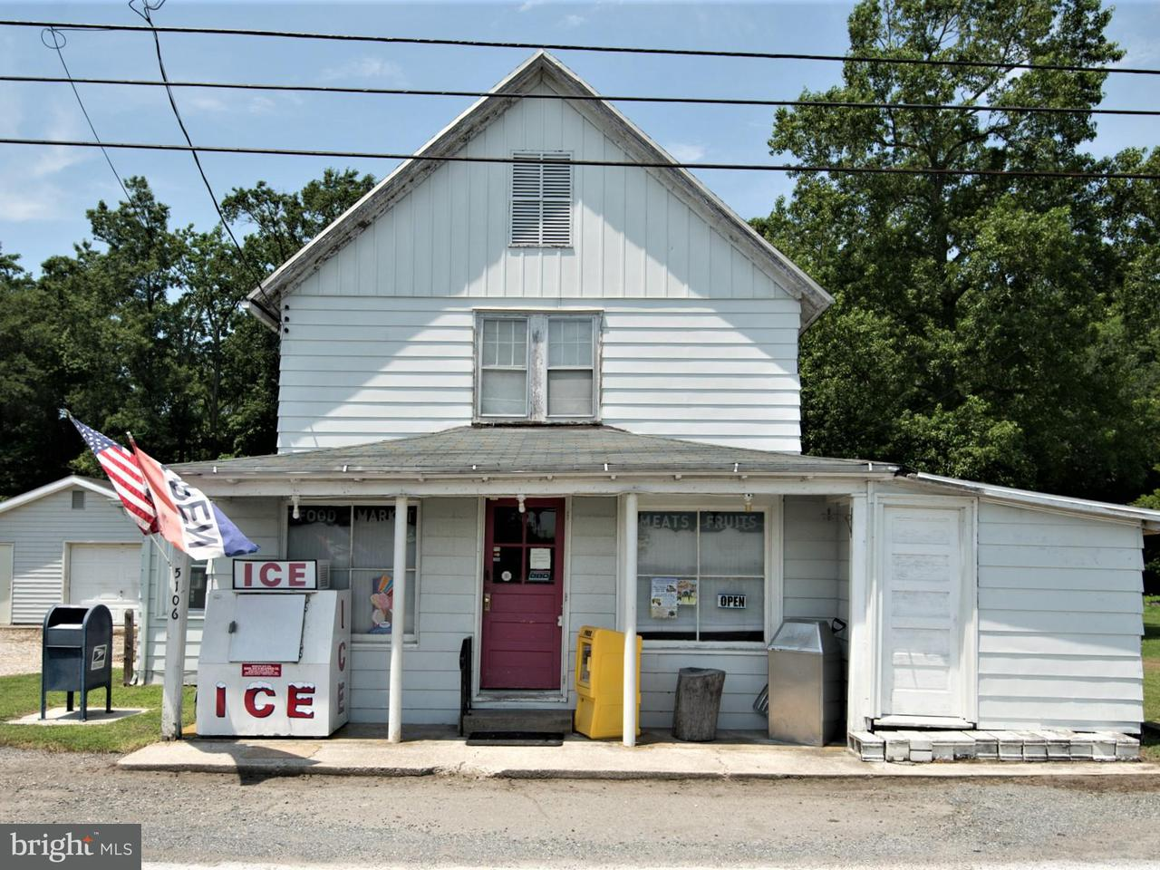 Commercial for Sale at 5106 Rhodesdale-Vienna Rd Rhodesdale, 21659 United States