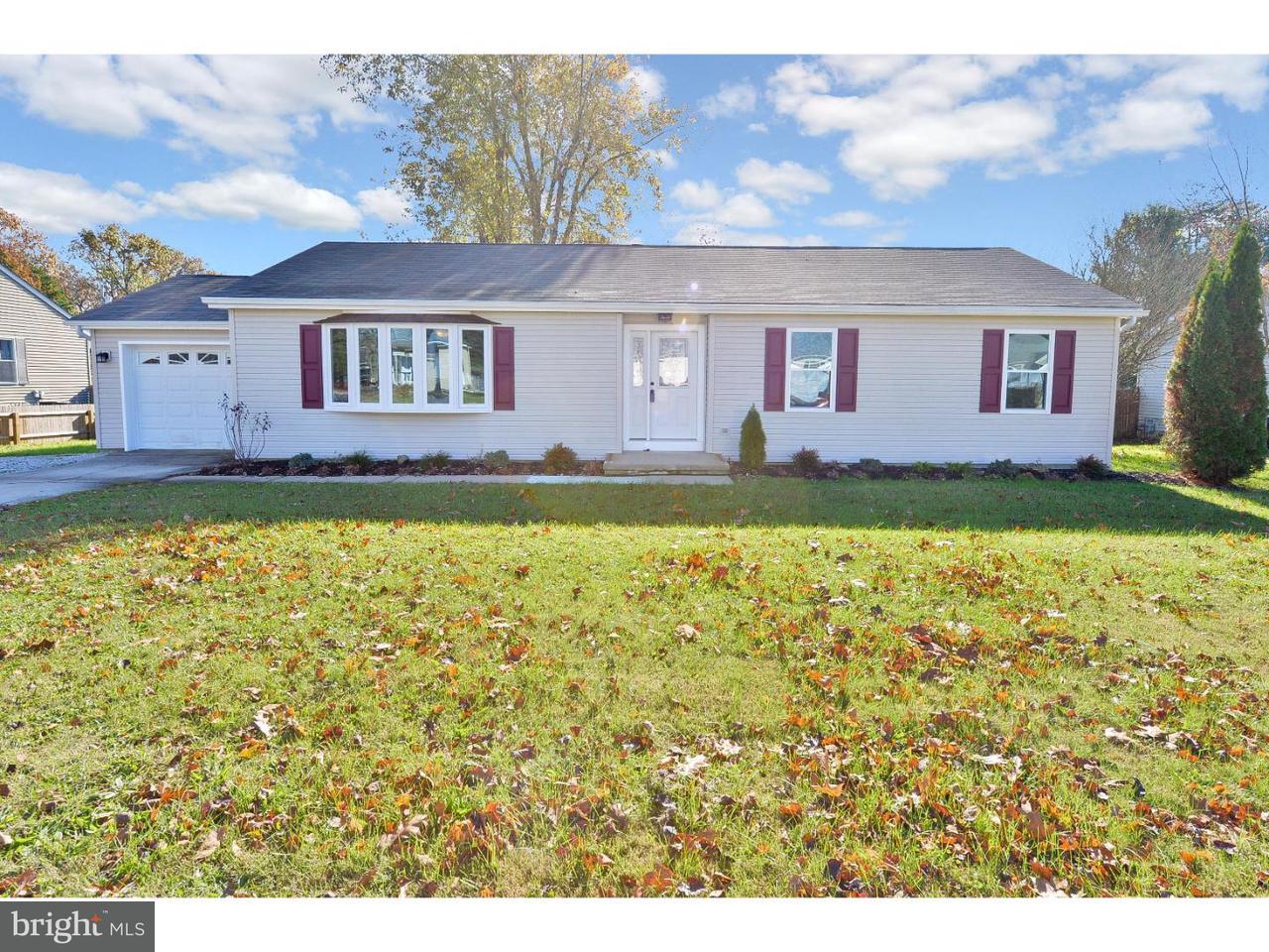 Enfamiljshus för Försäljning vid 2210 KINGSFORD Lane Atco, New Jersey 08004 Usa