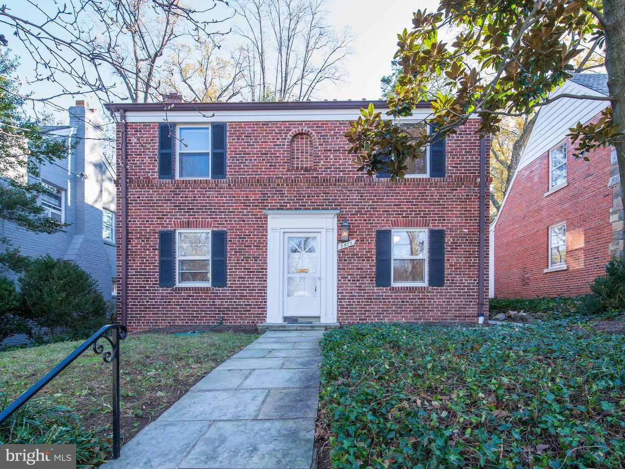 Single Family Home for Sale at 3813 47TH ST NW 3813 47TH ST NW Washington, District Of Columbia 20016 United States