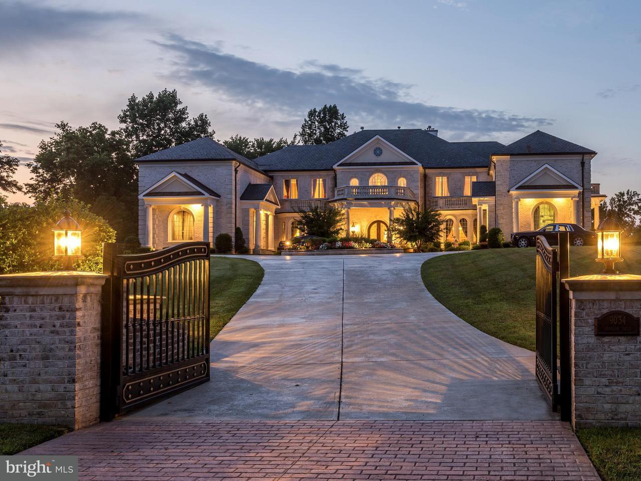 Maison unifamiliale pour l Vente à 9034 BRONSON Drive 9034 BRONSON Drive Potomac, Maryland 20854 États-Unis