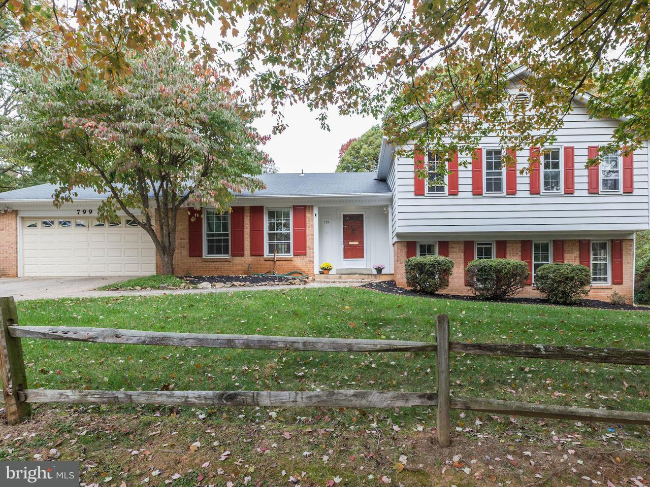 Single Family Home for Sale at 799 NELSON Street 799 NELSON Street Rockville, Maryland 20850 United States