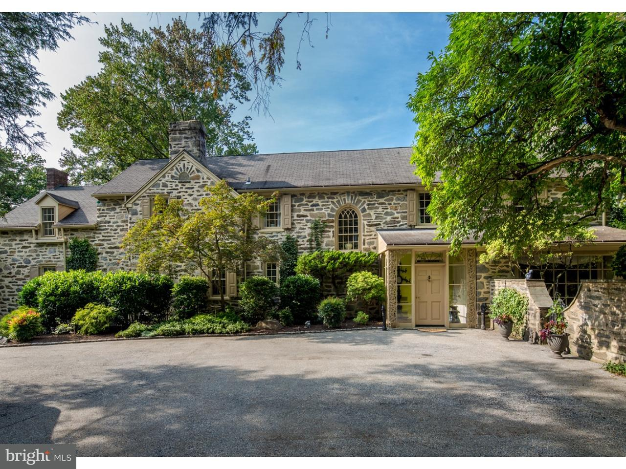 Частный односемейный дом для того Продажа на 129 E OLD GULPH Road Wynnewood, Пенсильвания 19096 Соединенные Штаты