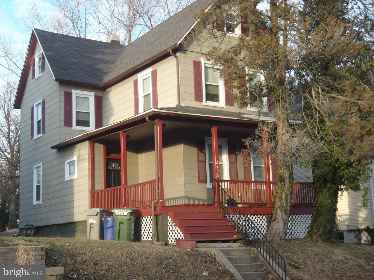 Single Family for Sale at 2406 Cold Spring Ln Baltimore, Maryland 21214 United States