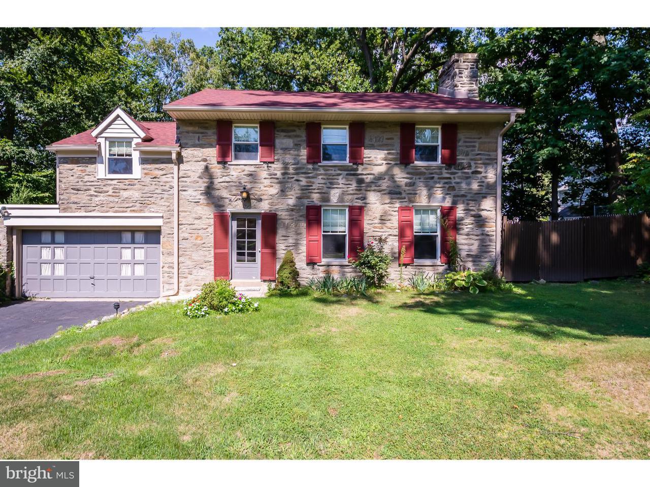 Casa Unifamiliar por un Alquiler en 7811 CHELTENHAM Avenue Glenside, Pennsylvania 19038 Estados Unidos