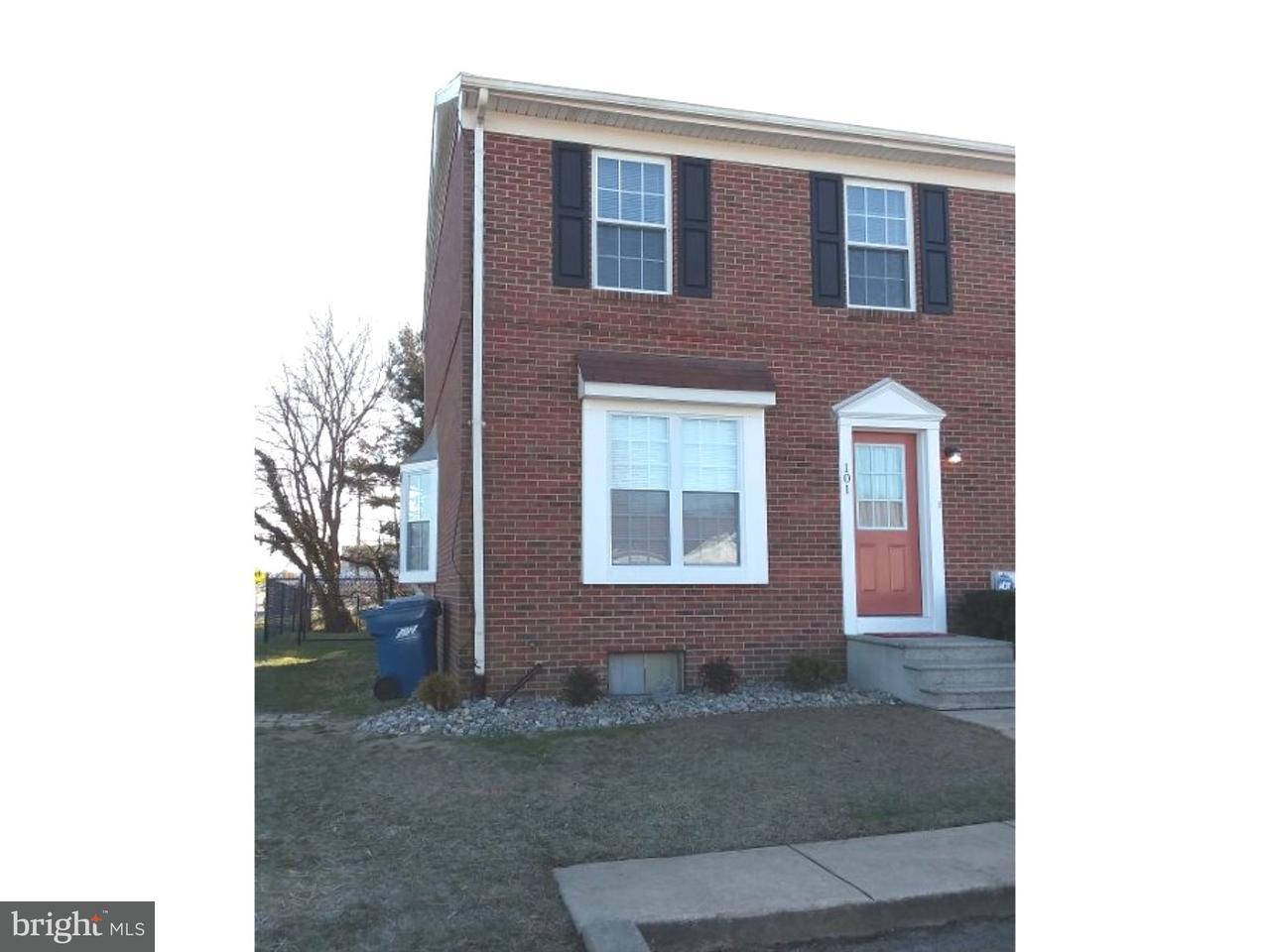 Maison accolée pour l à louer à 101 MEETING HOUSE Lane Camden, Delaware 19934 États-Unis
