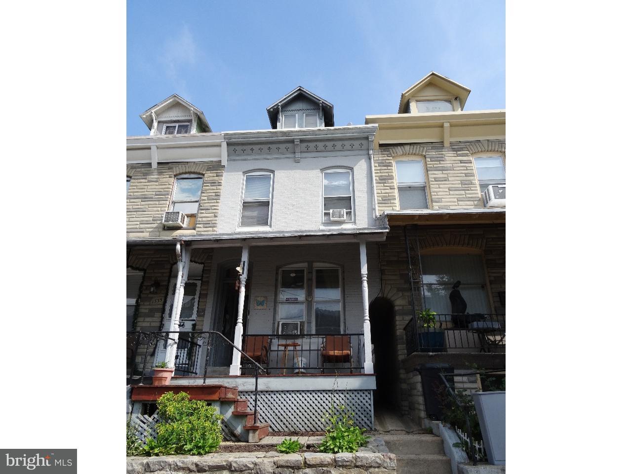 Casa Unifamiliar por un Venta en 1337 MUHLENBERG Street Reading, Pennsylvania 19602 Estados Unidos