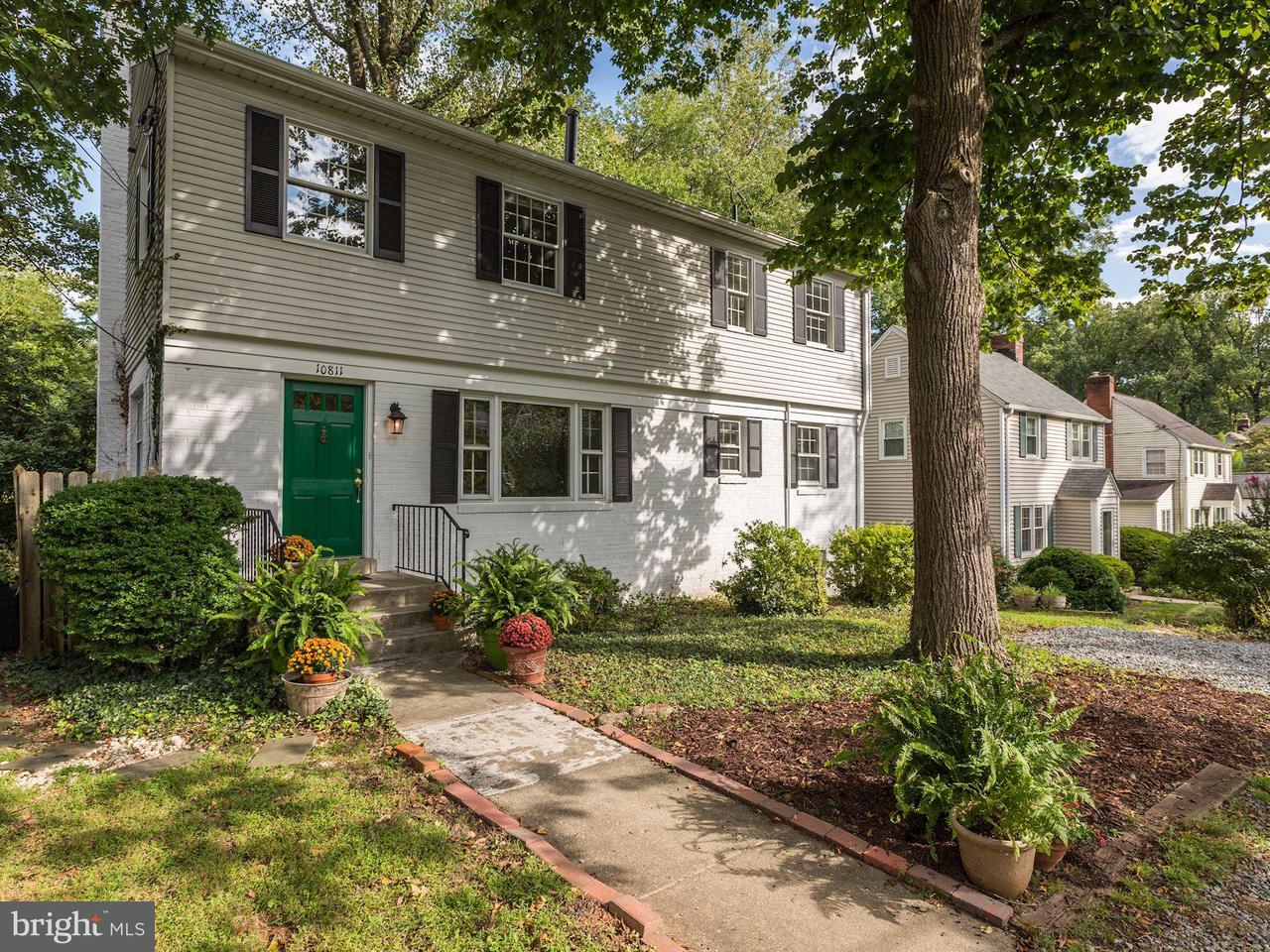 Vivienda unifamiliar por un Venta en 10811 KESWICK Street 10811 KESWICK Street Garrett Park, Maryland 20896 Estados Unidos