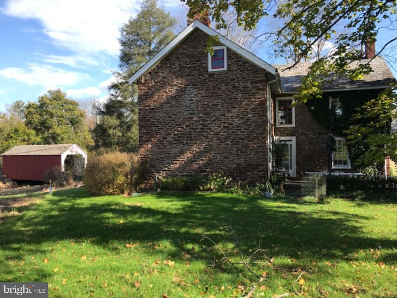 Частный односемейный дом для того Продажа на 85 GEIGEL HILL Road Erwinna, Пенсильвания 18920 Соединенные Штаты