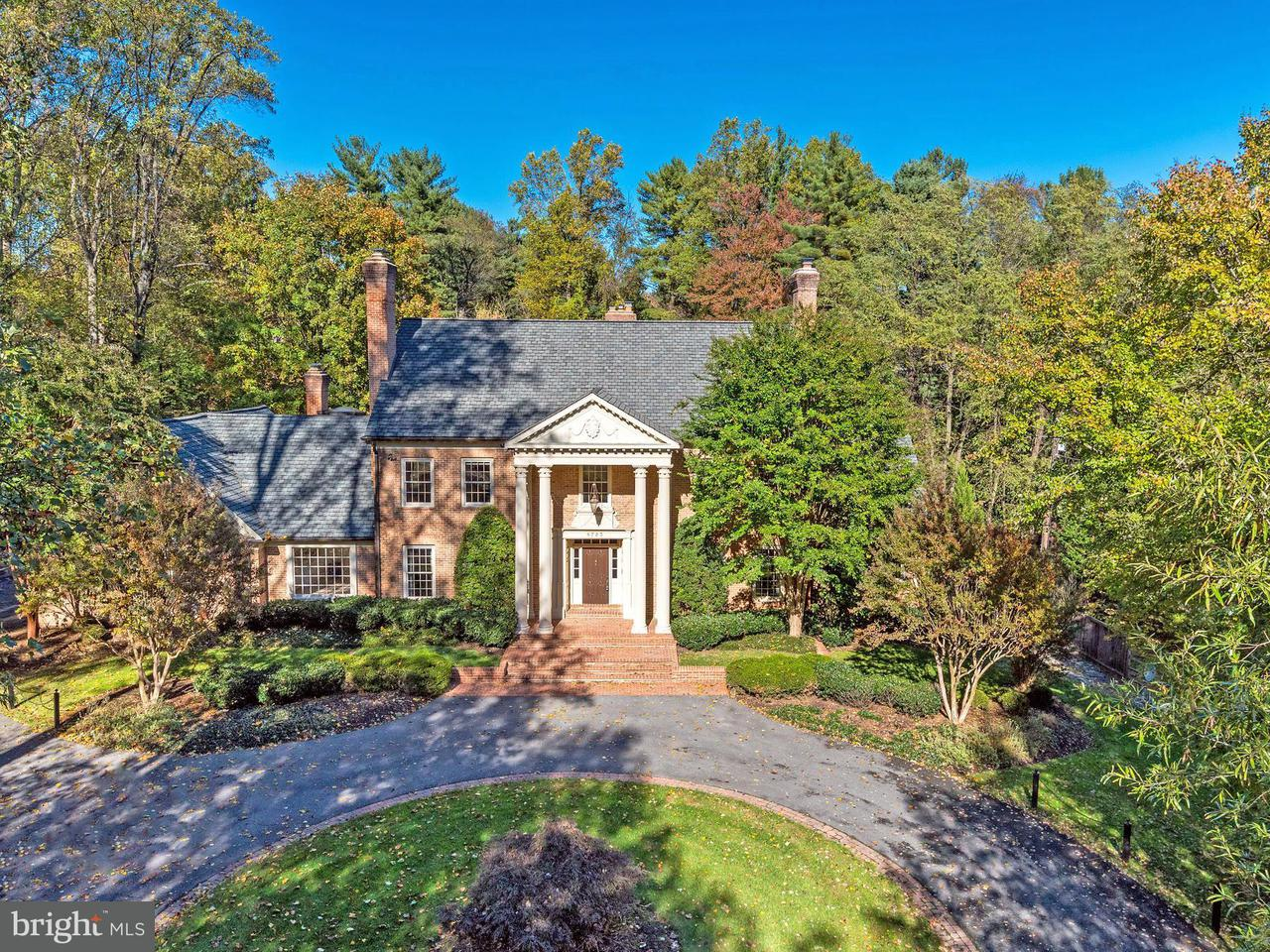 Single Family Home for Sale at 8723 PERSIMMON TREE Road 8723 PERSIMMON TREE Road Potomac, Maryland 20854 United States