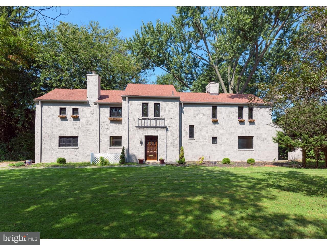 Maison unifamiliale pour l à louer à 1421 HILLSIDE Road Wynnewood, Pennsylvanie 19096 États-Unis