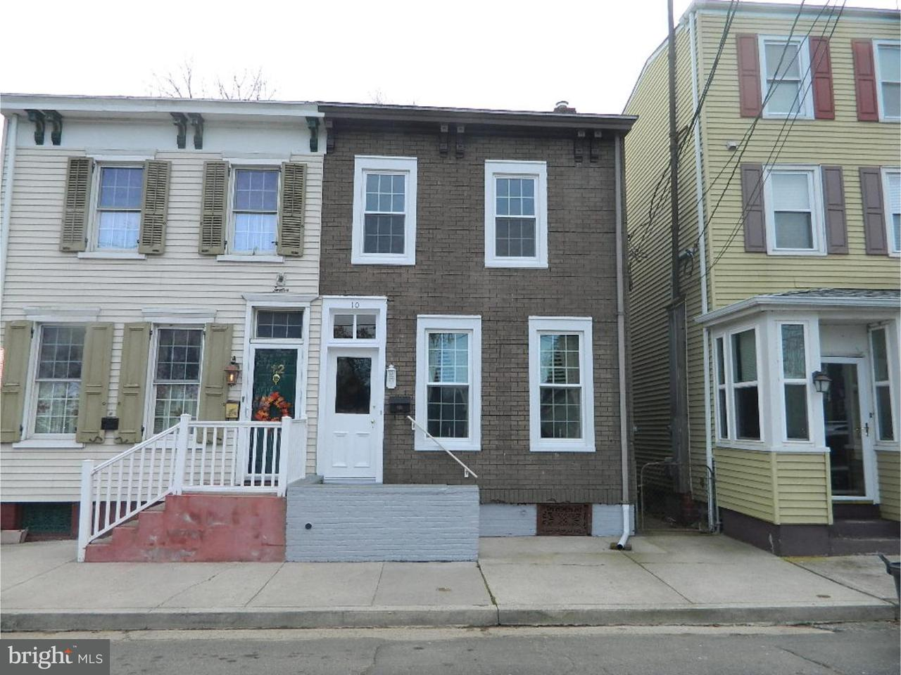 Townhouse for Rent at 10 BANK Street Bordentown, New Jersey 08505 United States
