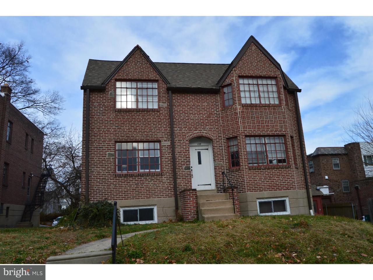 Quadraplex for Rent at 137 BERKLEY AVE #B Lansdowne, Pennsylvania 19050 United States