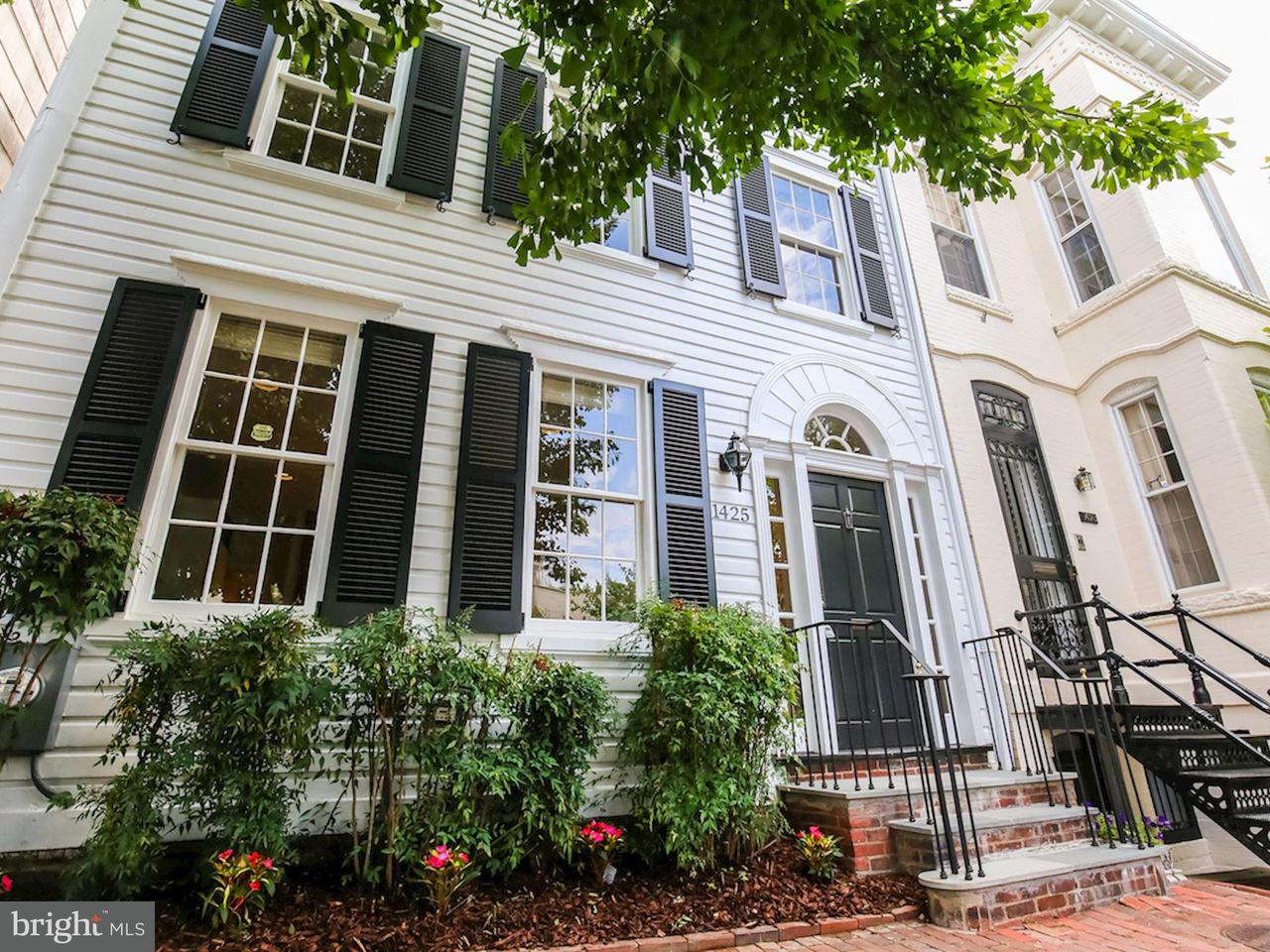 Townhouse for Sale at 1425 34TH ST NW 1425 34TH ST NW Washington, District Of Columbia 20007 United States