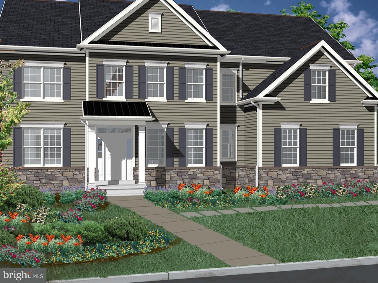 Частный односемейный дом для того Продажа на IRONWORKS Circle Ivyland, Пенсильвания 18974 Соединенные Штаты