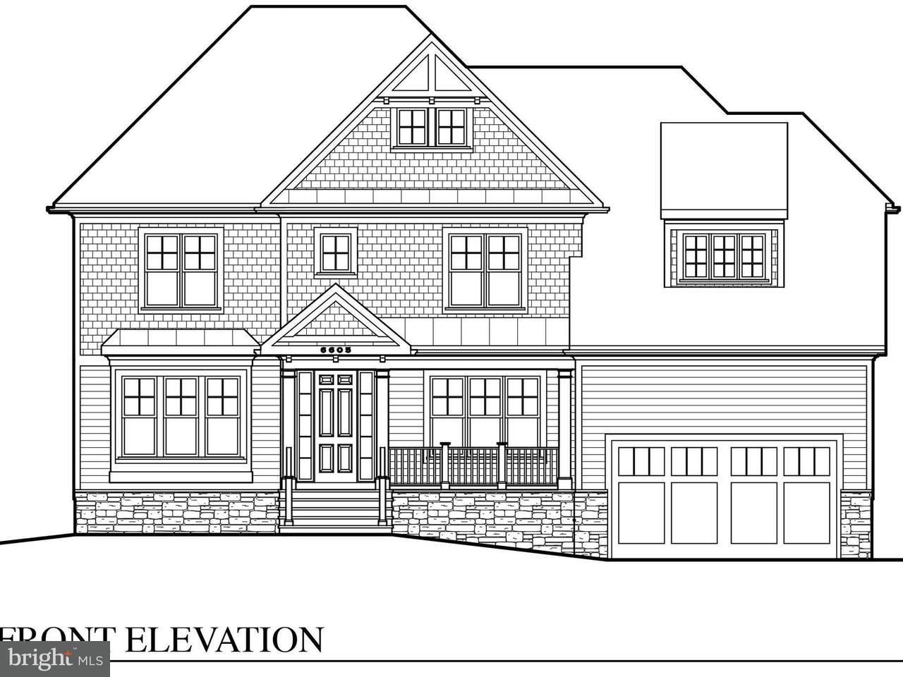 Einfamilienhaus für Verkauf beim 6605 QUINTEN Street 6605 QUINTEN Street Falls Church, Virginia 22043 Vereinigte Staaten