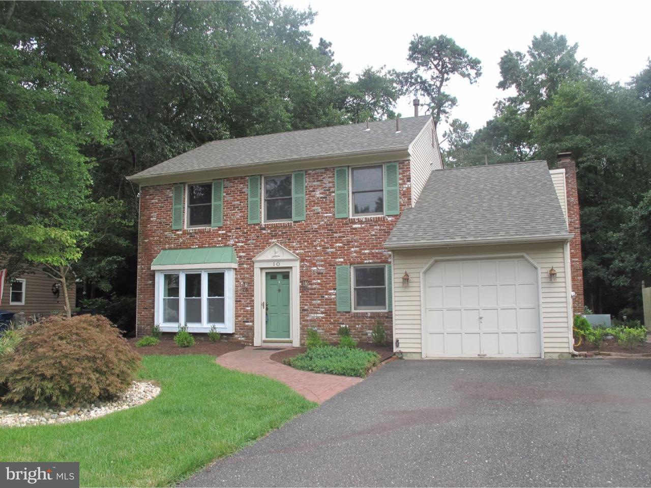 Maison unifamiliale pour l à louer à 10 GUILFORD Court Evesham, New Jersey 08053 États-Unis