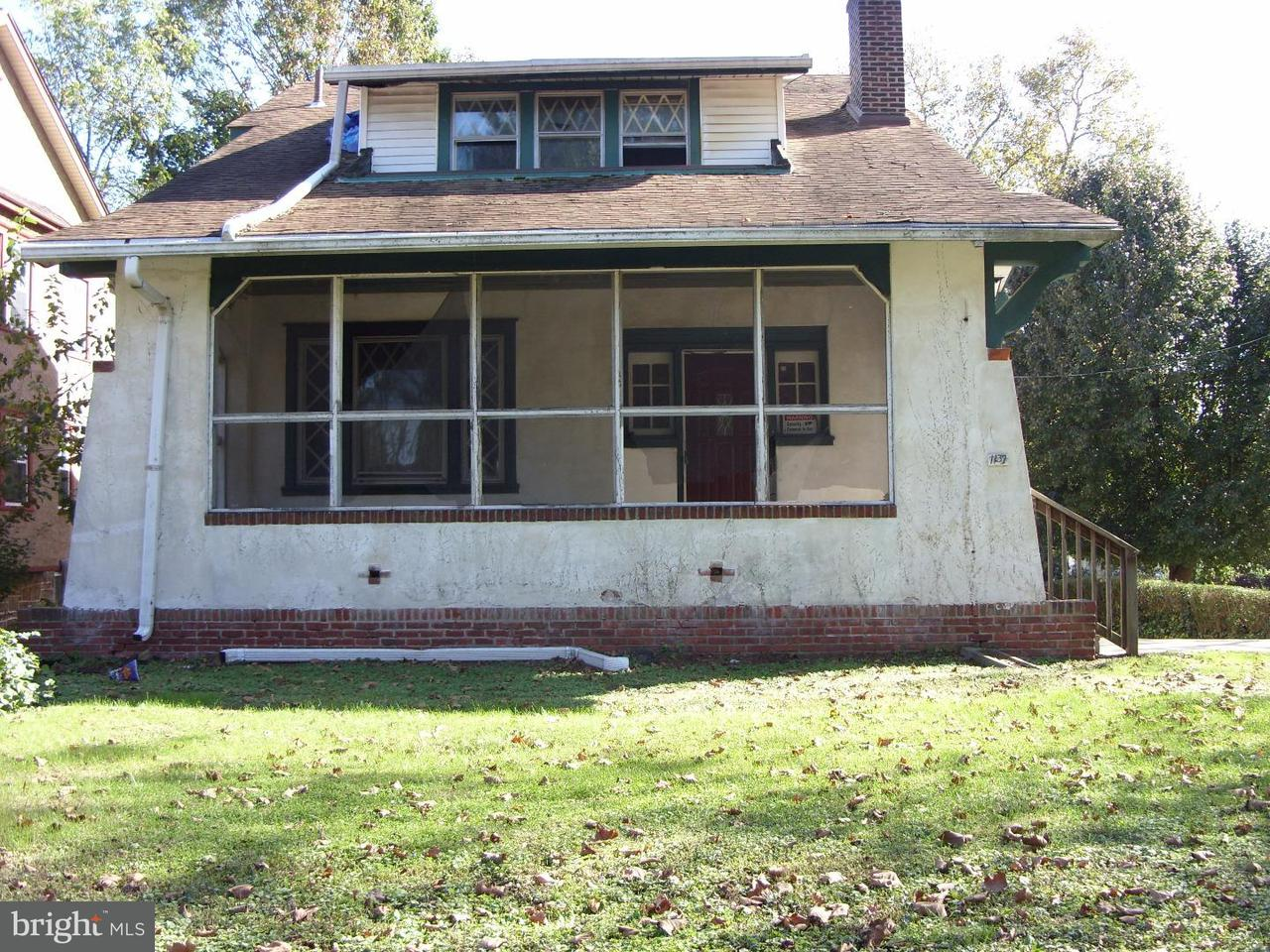 Частный односемейный дом для того Продажа на 1137 COATES Street Sharon Hill, Пенсильвания 19079 Соединенные Штаты