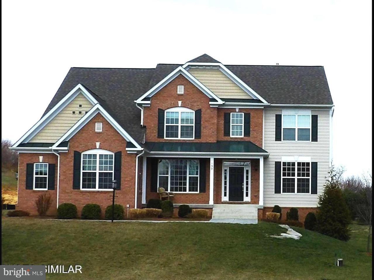 Частный односемейный дом для того Продажа на INEZ COURT INEZ COURT Stephens City, Виргиния 22655 Соединенные Штаты