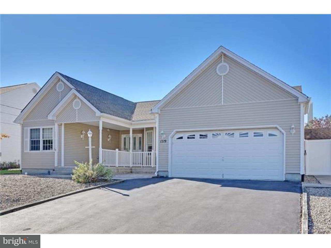 独户住宅 为 销售 在 1719 BREAKERS Drive Manahawkin, 新泽西州 08050 美国