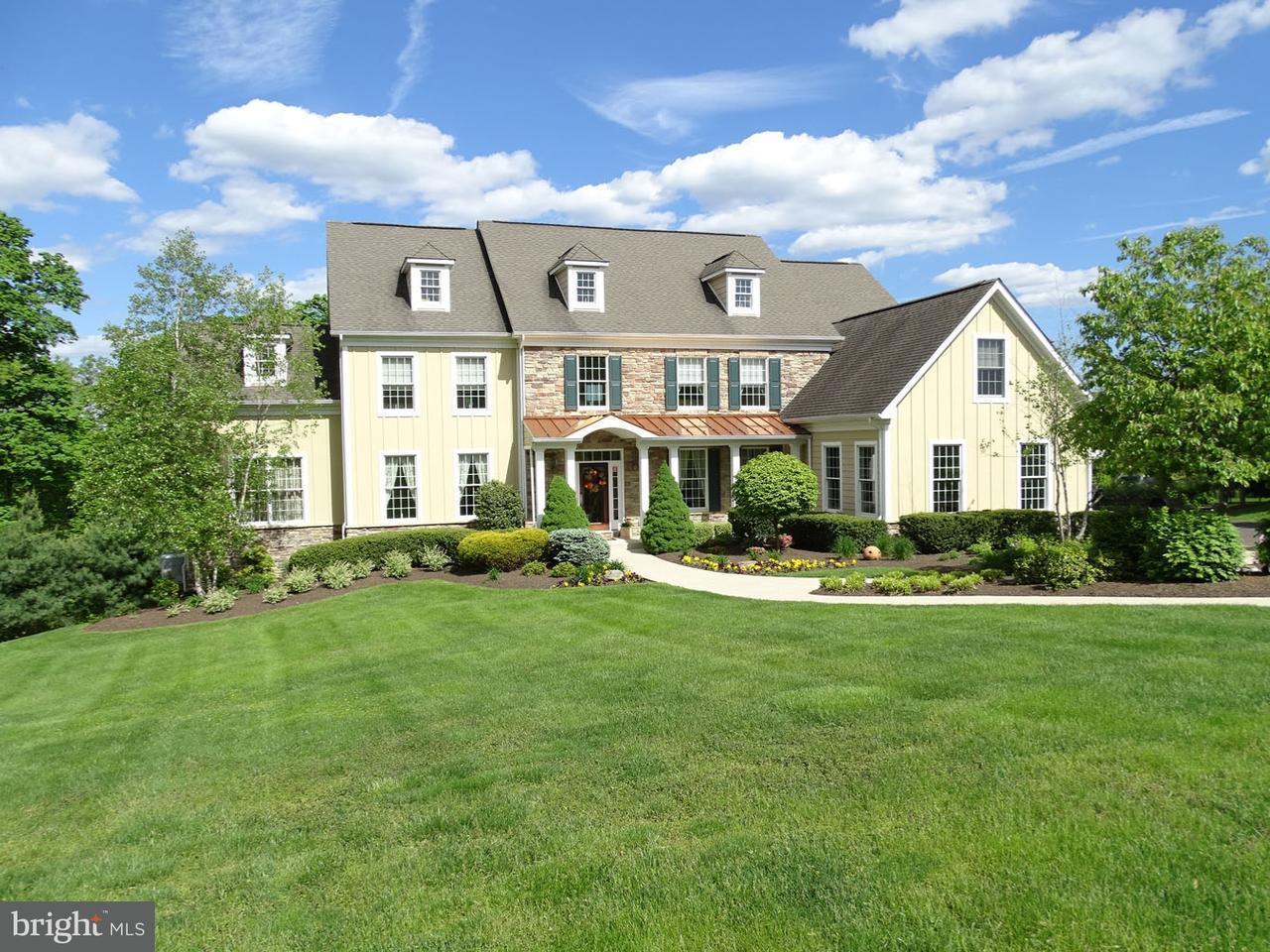Частный односемейный дом для того Продажа на 500 WORTHINGTON MILL Road Richboro, Пенсильвания 18954 Соединенные Штаты