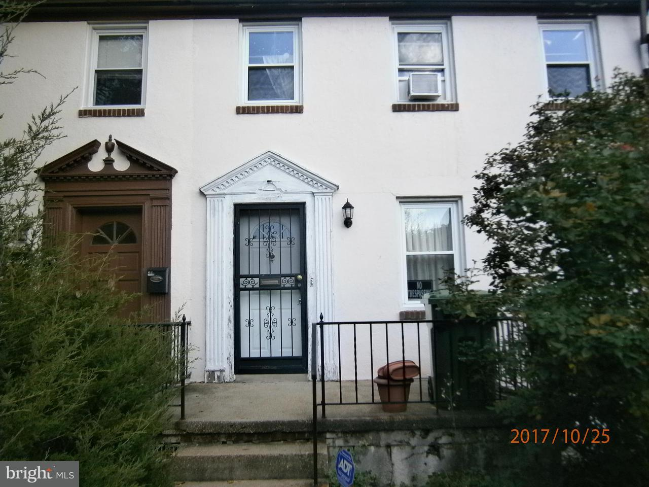 Single Family for Sale at 3305 Frisby St Baltimore, Maryland 21218 United States