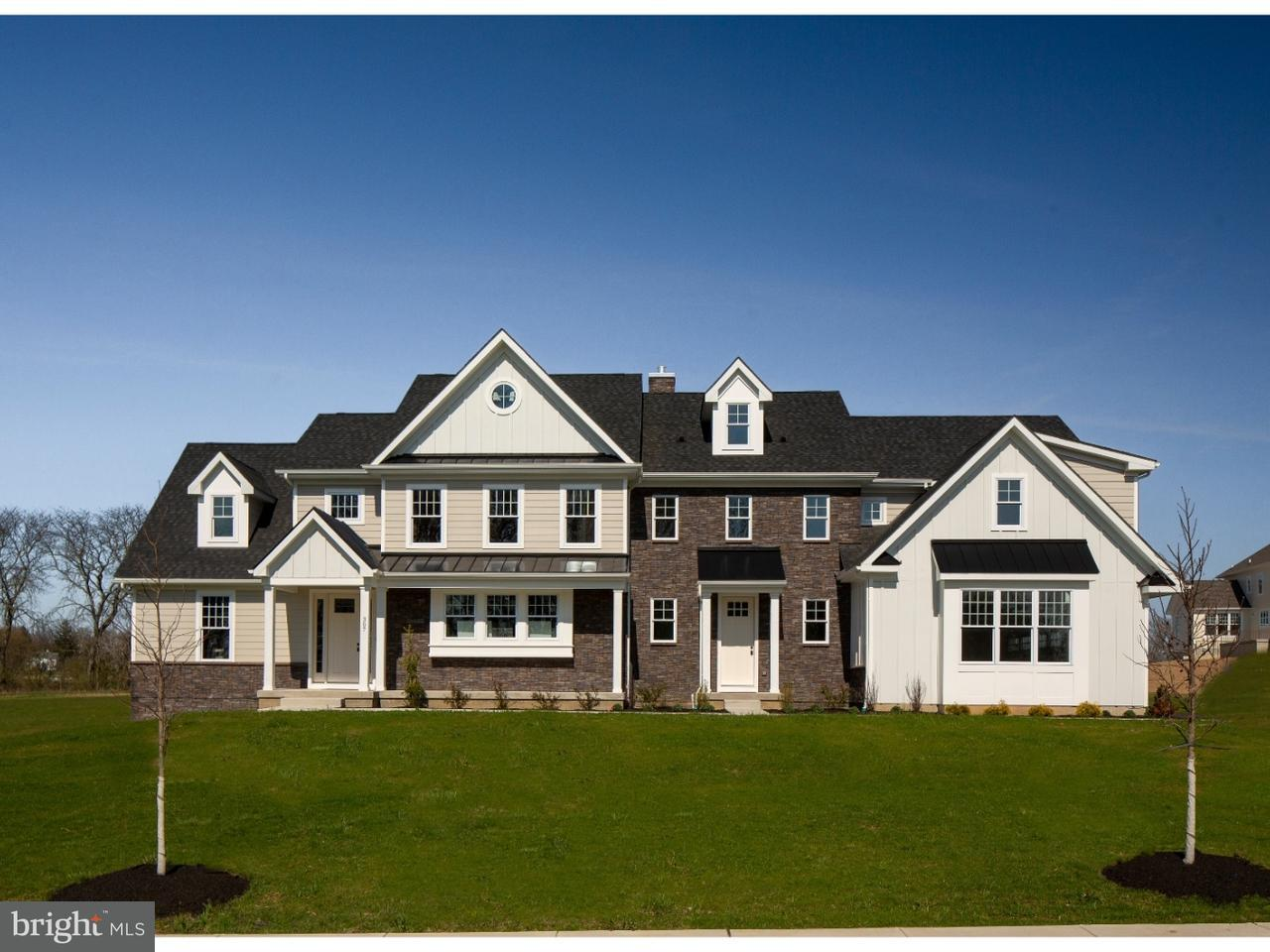 Частный односемейный дом для того Продажа на 87 WALTER Road Chalfont, Пенсильвания 18914 Соединенные Штаты
