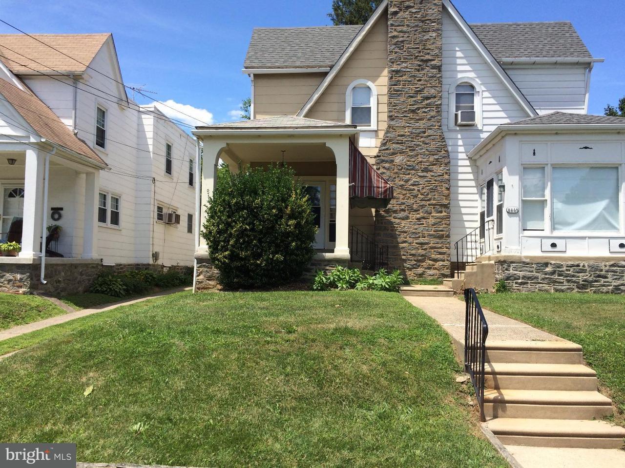 Casa unifamiliar adosada (Townhouse) por un Alquiler en 2447 ELDON Avenue Drexel Hill, Pennsylvania 19026 Estados Unidos