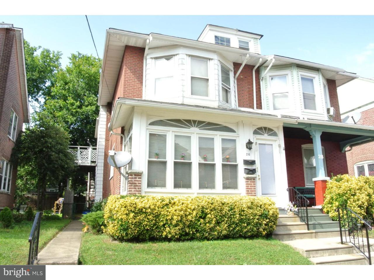 Duplex for Rent at 26 E 23RD ST #2ND FL Chester, Pennsylvania 19013 United States