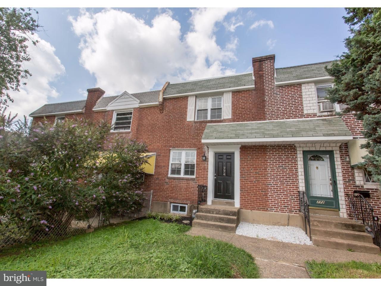 联栋屋 为 销售 在 774 BENNINGTON Road Folcroft, 宾夕法尼亚州 19032 美国