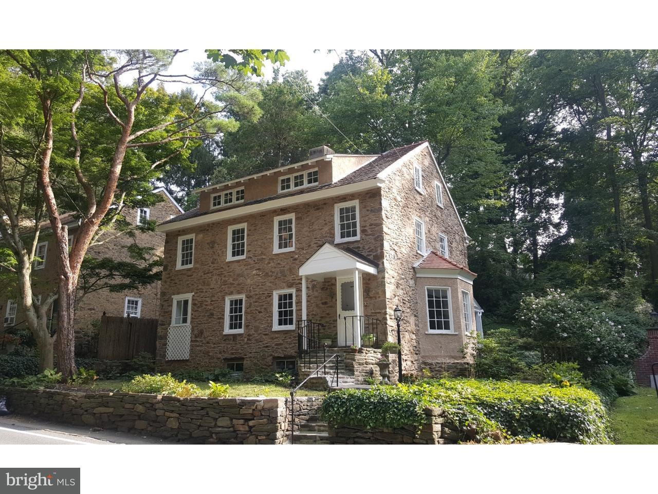 Casa Unifamiliar por un Venta en 69 W ROSE VALLEY Road Rose Valley, Pennsylvania 19086 Estados Unidos