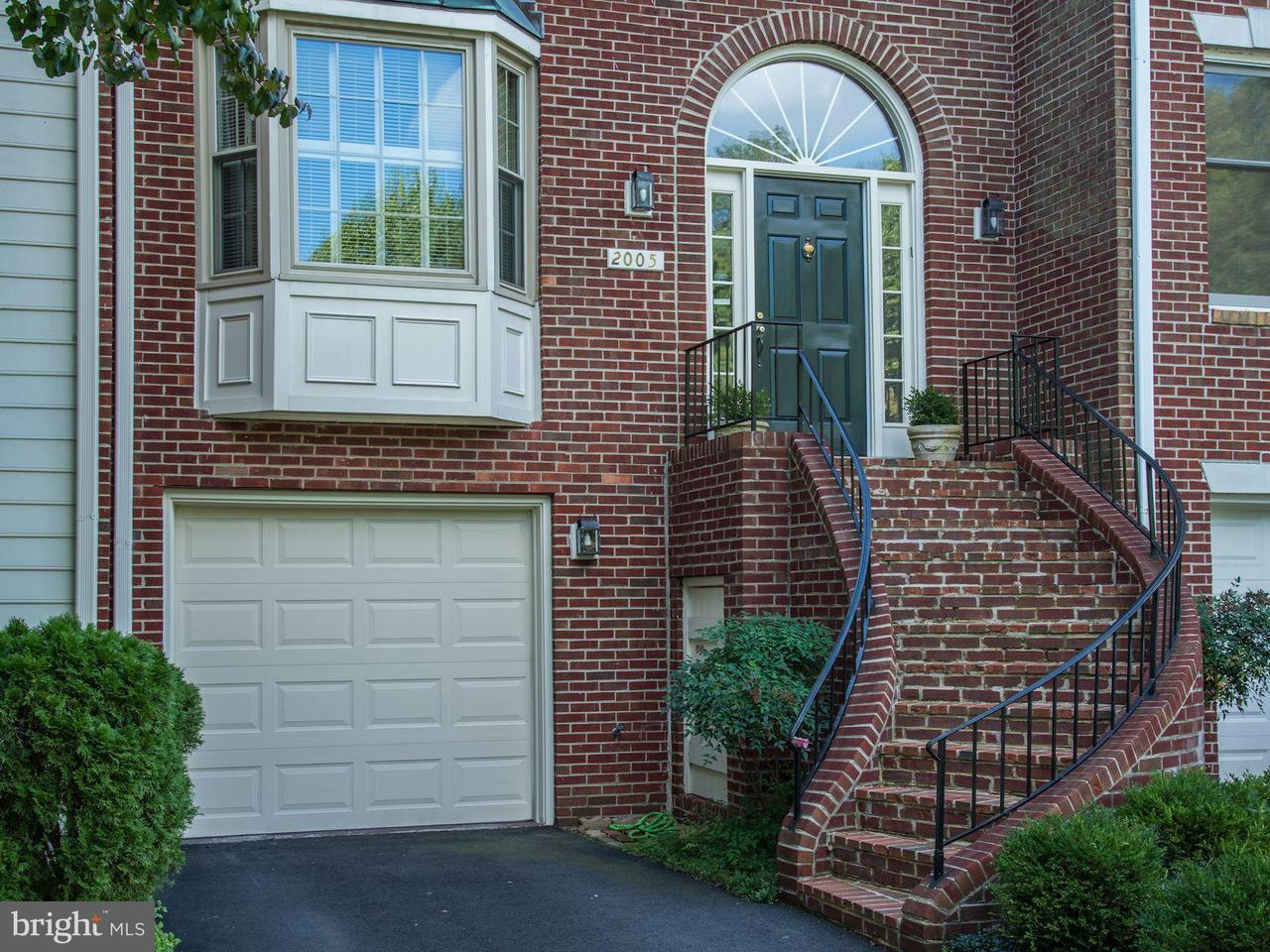 Townhouse for Sale at 2005 GERVAIS Drive 2005 GERVAIS Drive Falls Church, Virginia 22043 United States