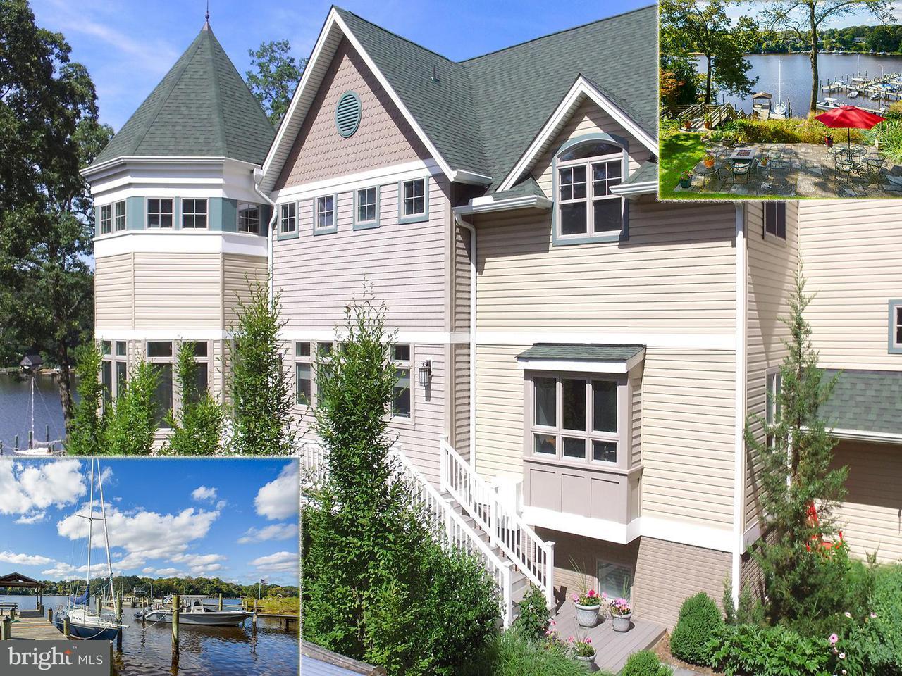 Частный односемейный дом для того Продажа на 641 HONEYSUCKLE Lane 641 HONEYSUCKLE Lane Severna Park, Мэриленд 21146 Соединенные Штаты
