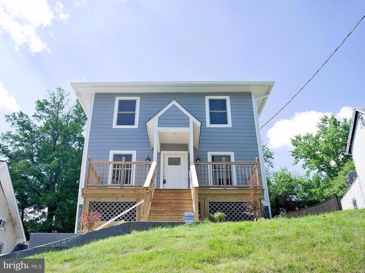 Maison unifamiliale pour l Vente à 2209 FRANKLIN ST NE 2209 FRANKLIN ST NE Washington, District De Columbia 20018 États-Unis