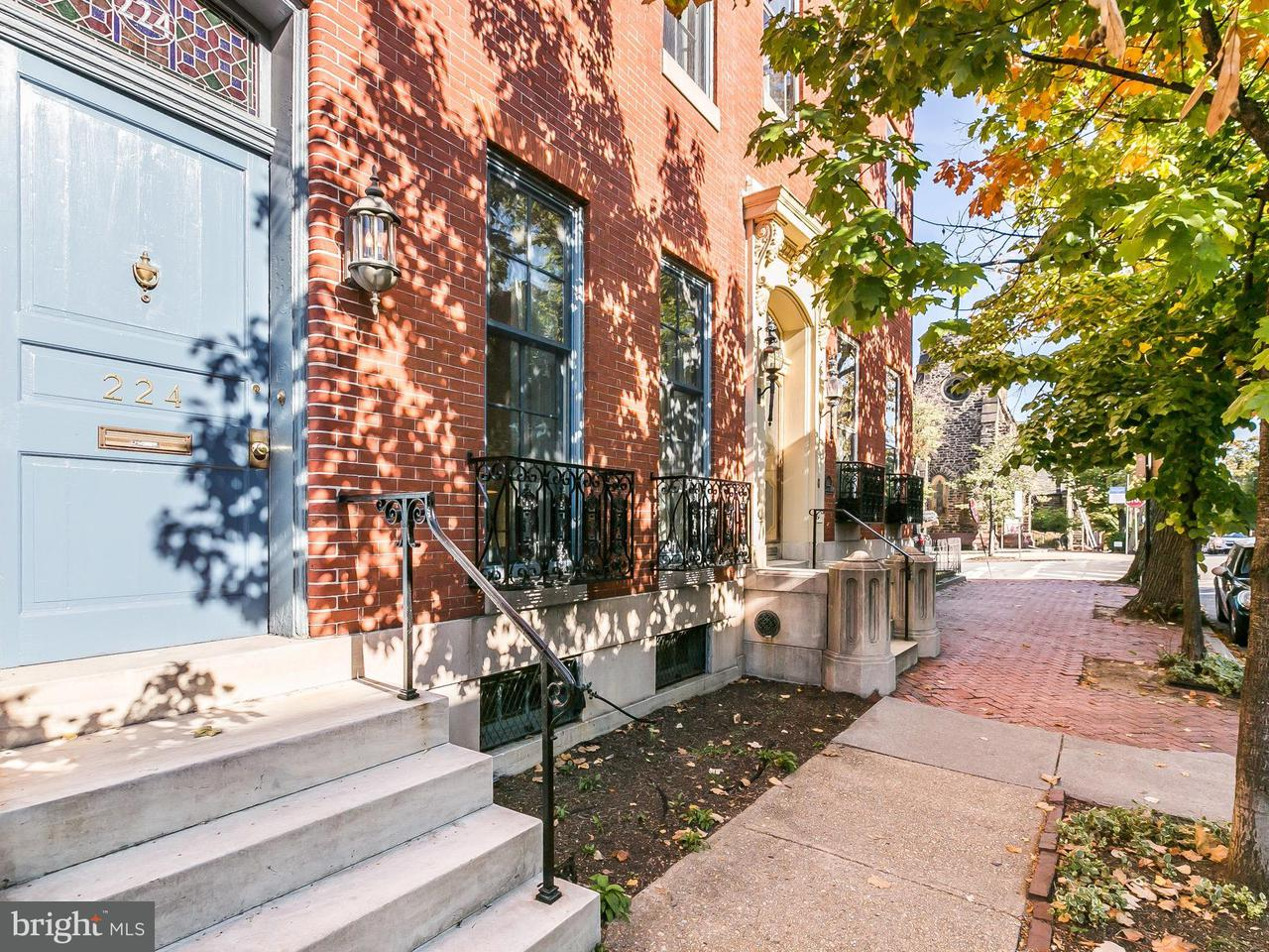 Townhouse for Sale at 224 LAFAYETTE AVE W 224 LAFAYETTE AVE W Baltimore, Maryland 21217 United States