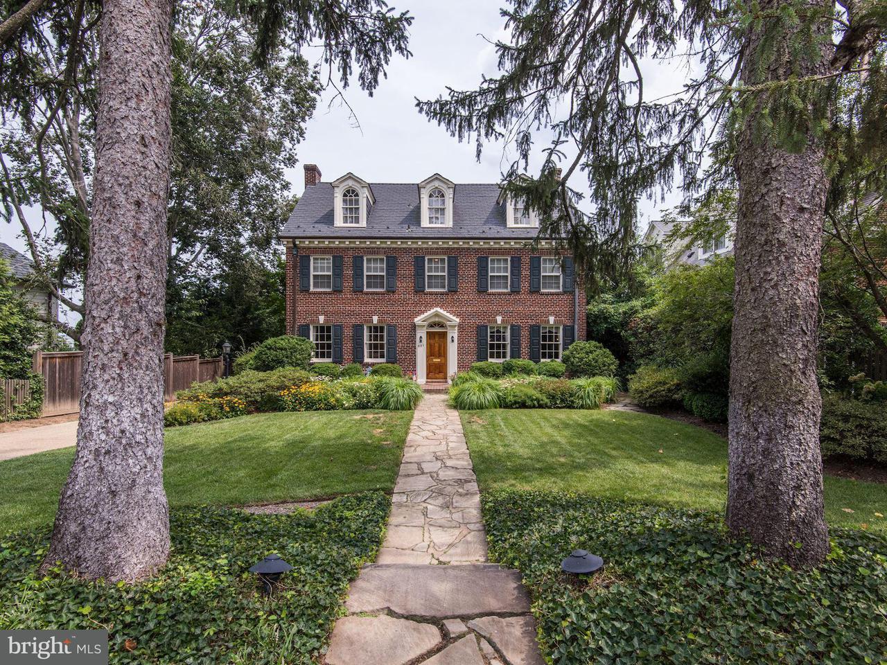Single Family Home for Sale at 6127 VERNON TER 6127 VERNON TER Alexandria, Virginia 22307 United States