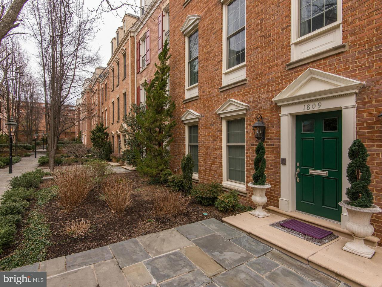Townhouse for Sale at 1809 KALORAMA SQUARE NW 1809 KALORAMA SQUARE NW Washington, District Of Columbia 20009 United States