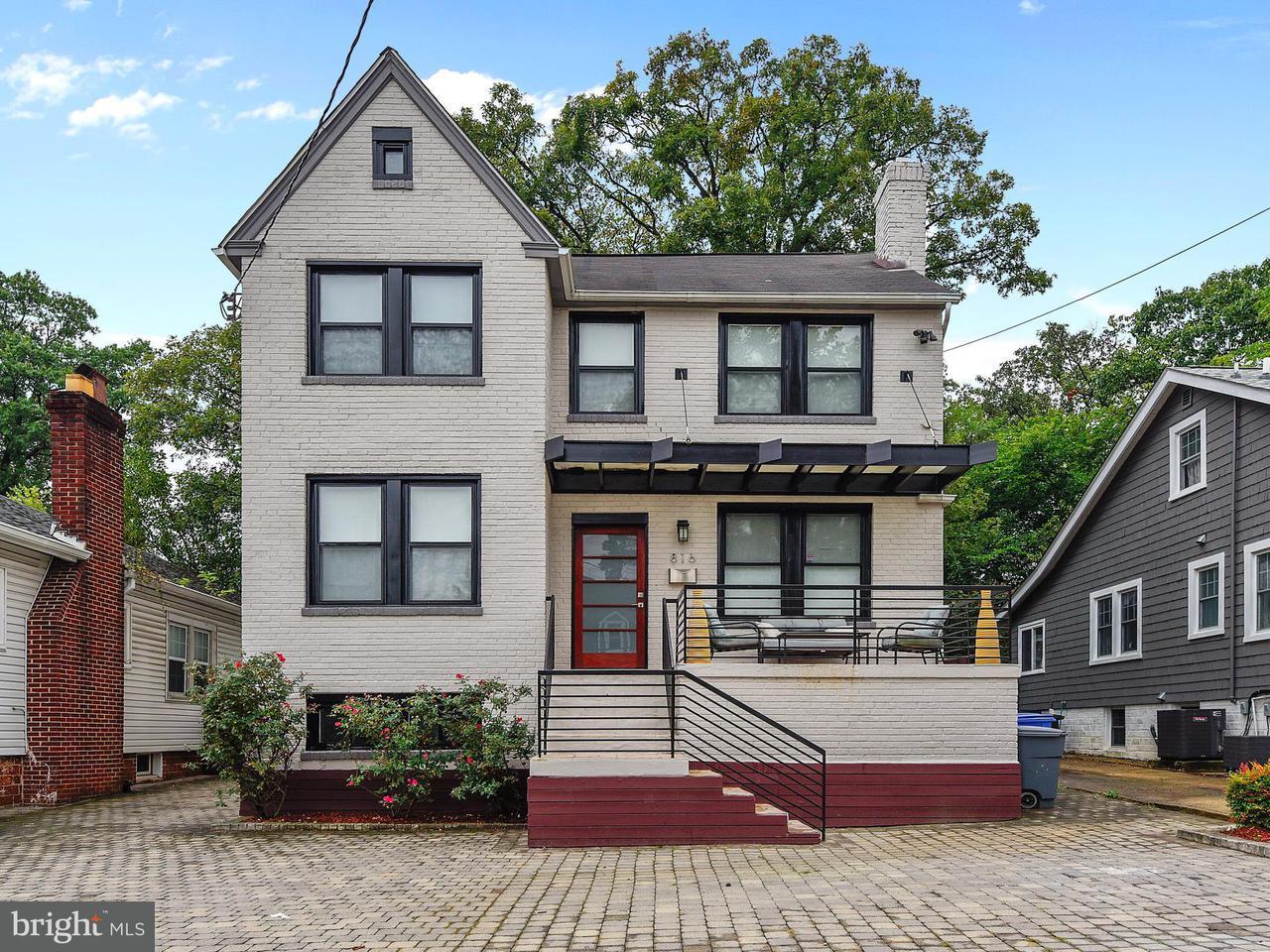 Single Family Home for Sale at 816 PHILADELPHIA Avenue 816 PHILADELPHIA Avenue Silver Spring, Maryland 20910 United States