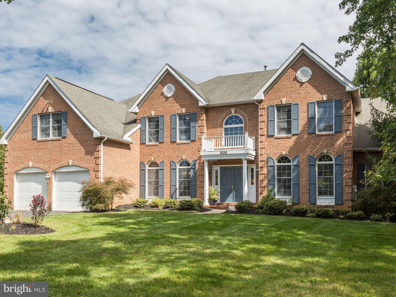 단독 가정 주택 용 매매 에 10200 CROSS HAVEN Court 10200 CROSS HAVEN Court Rockville, 메릴랜드 20850 미국