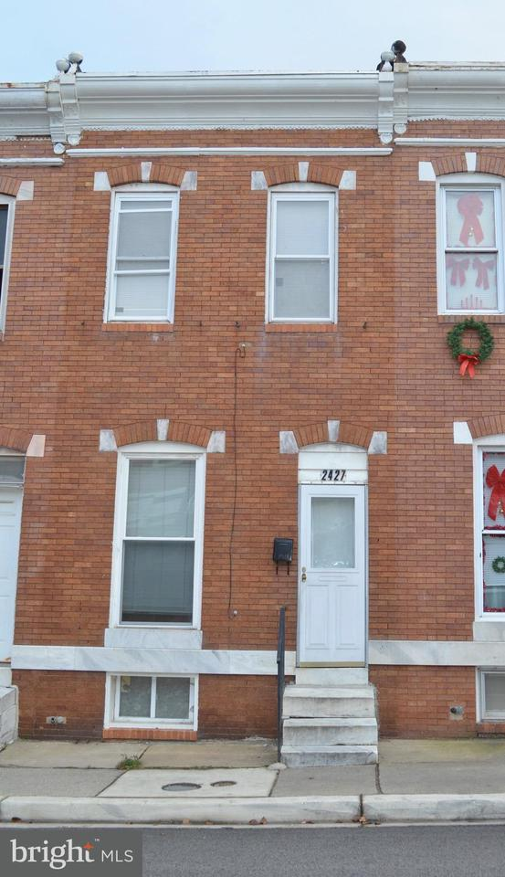 Single Family for Sale at 2427 Christian St Baltimore, Maryland 21223 United States