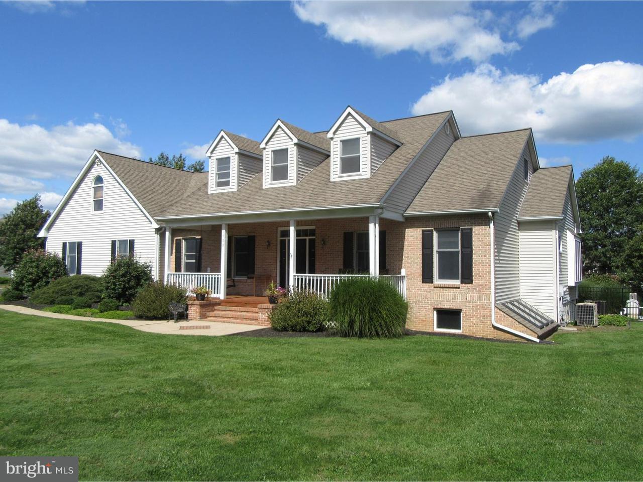 Частный односемейный дом для того Продажа на 1489 TURKEY TROT Road Warminster, Пенсильвания 18974 Соединенные Штаты