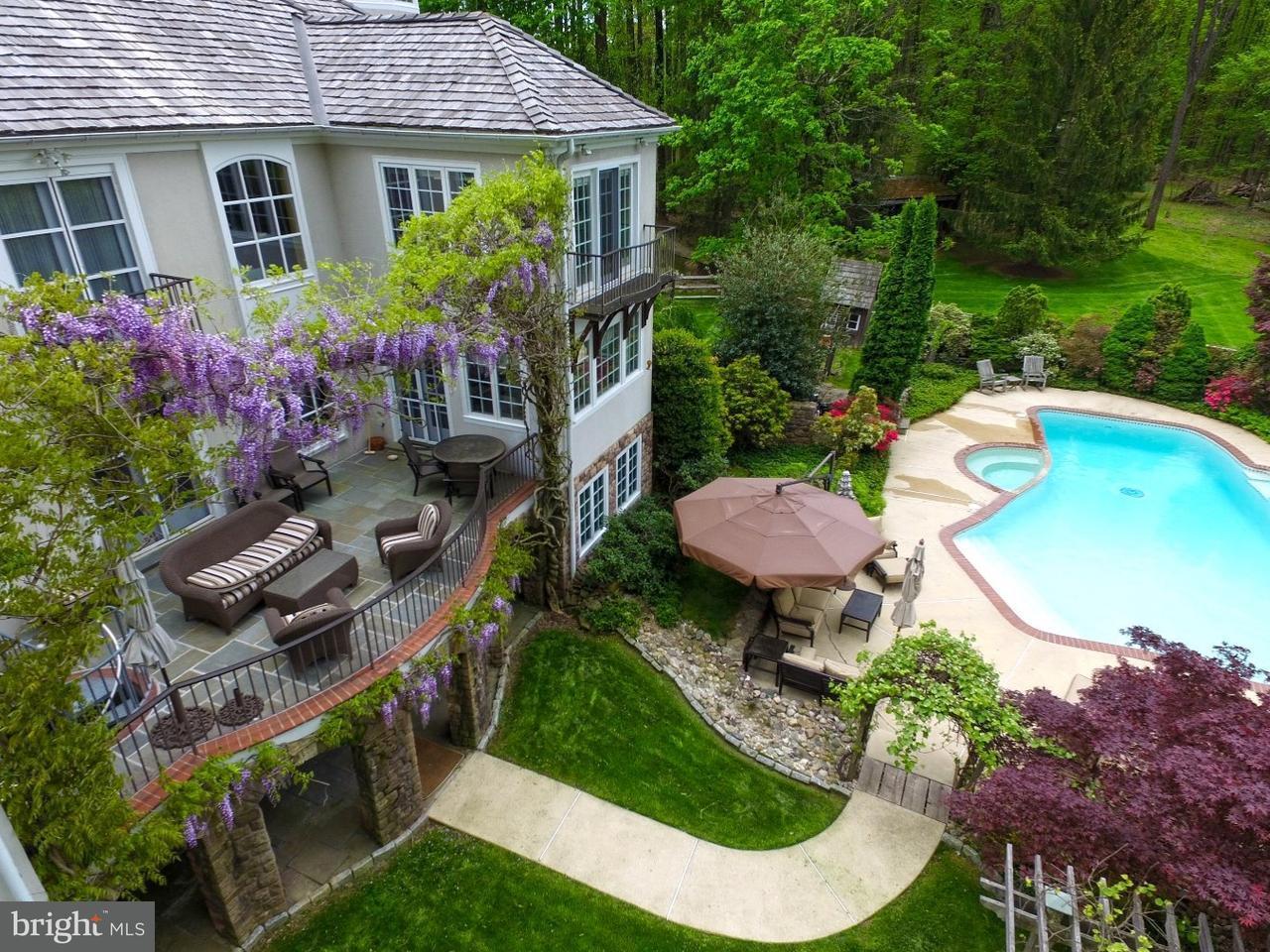 Частный односемейный дом для того Продажа на 6450 OLD CARVERSVILLE Road New Hope, Пенсильвания 18938 Соединенные ШтатыВ/Около: Solebury Township