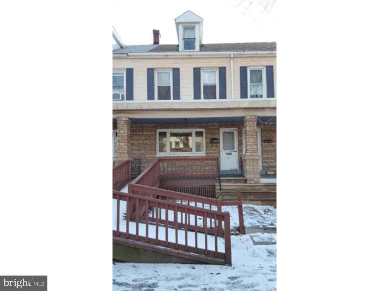 Townhouse for Sale at 472 1/2 LEHIGH Avenue Palmerton, Pennsylvania 18071 United States